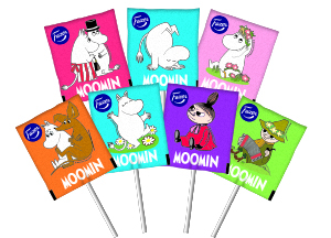 The iconic Moomin confectioneries